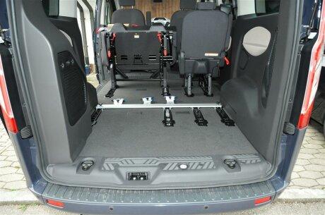 Ford Transit Connect >> Innenraum-Fahrradträger Schiene mit Verlängerung für den ...